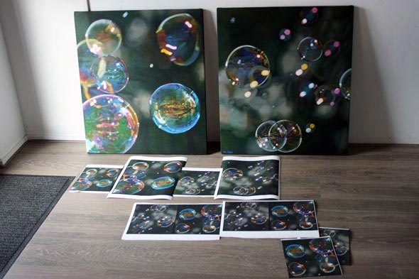 Original oil paintings and colour proofs for Giclee.