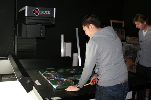 cruse scanner painting scan peter strobos